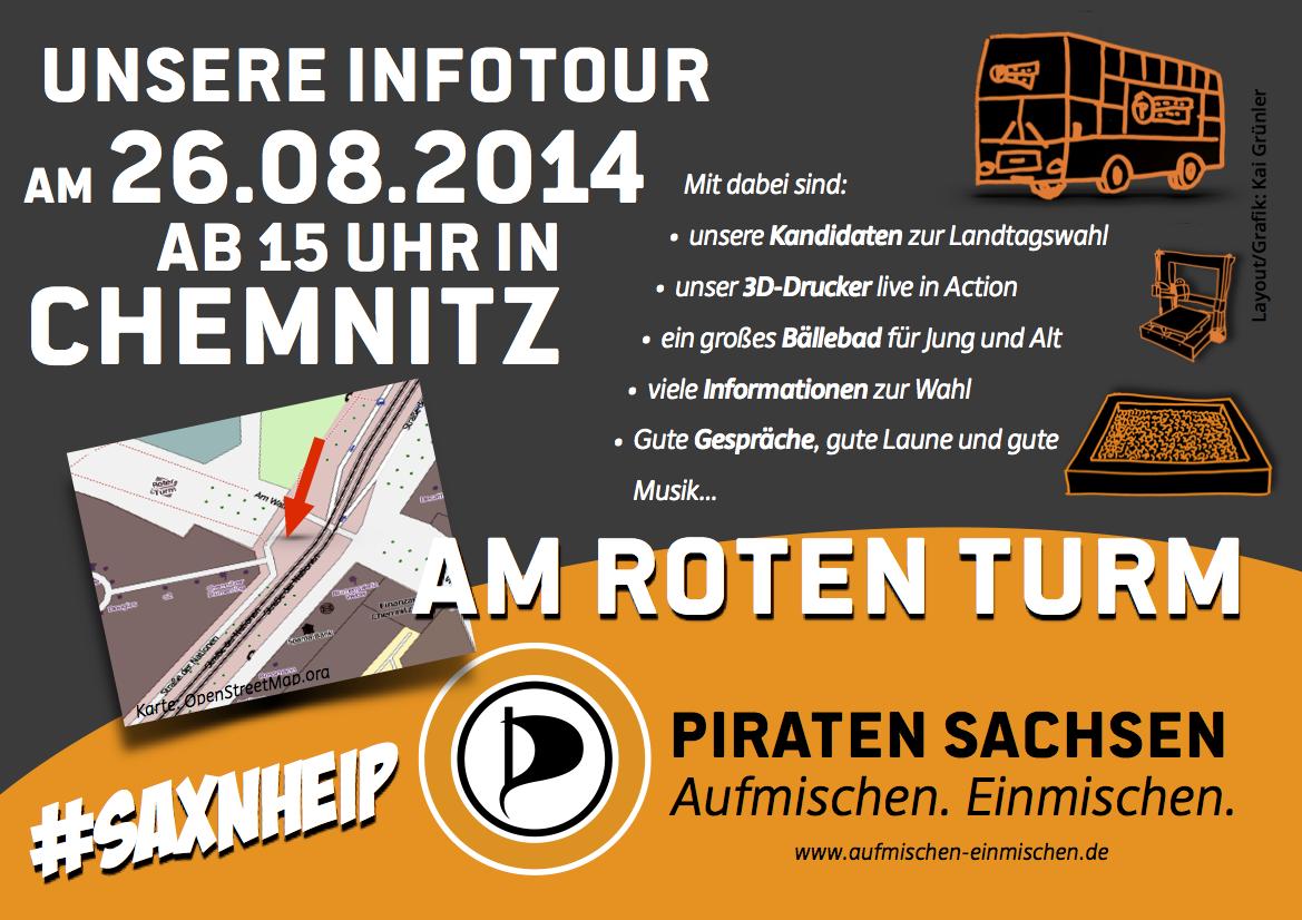 Saxntour Chemnitz 26.8.2014 15 Uhr